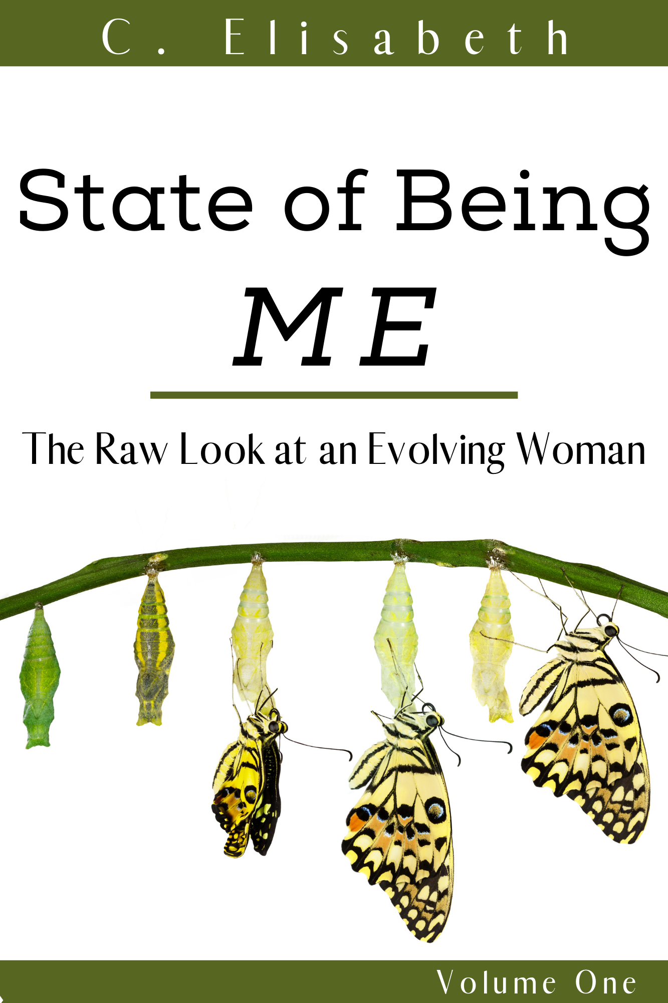State Of Being Me: The Raw Look at an Evolving Woman: Volume One